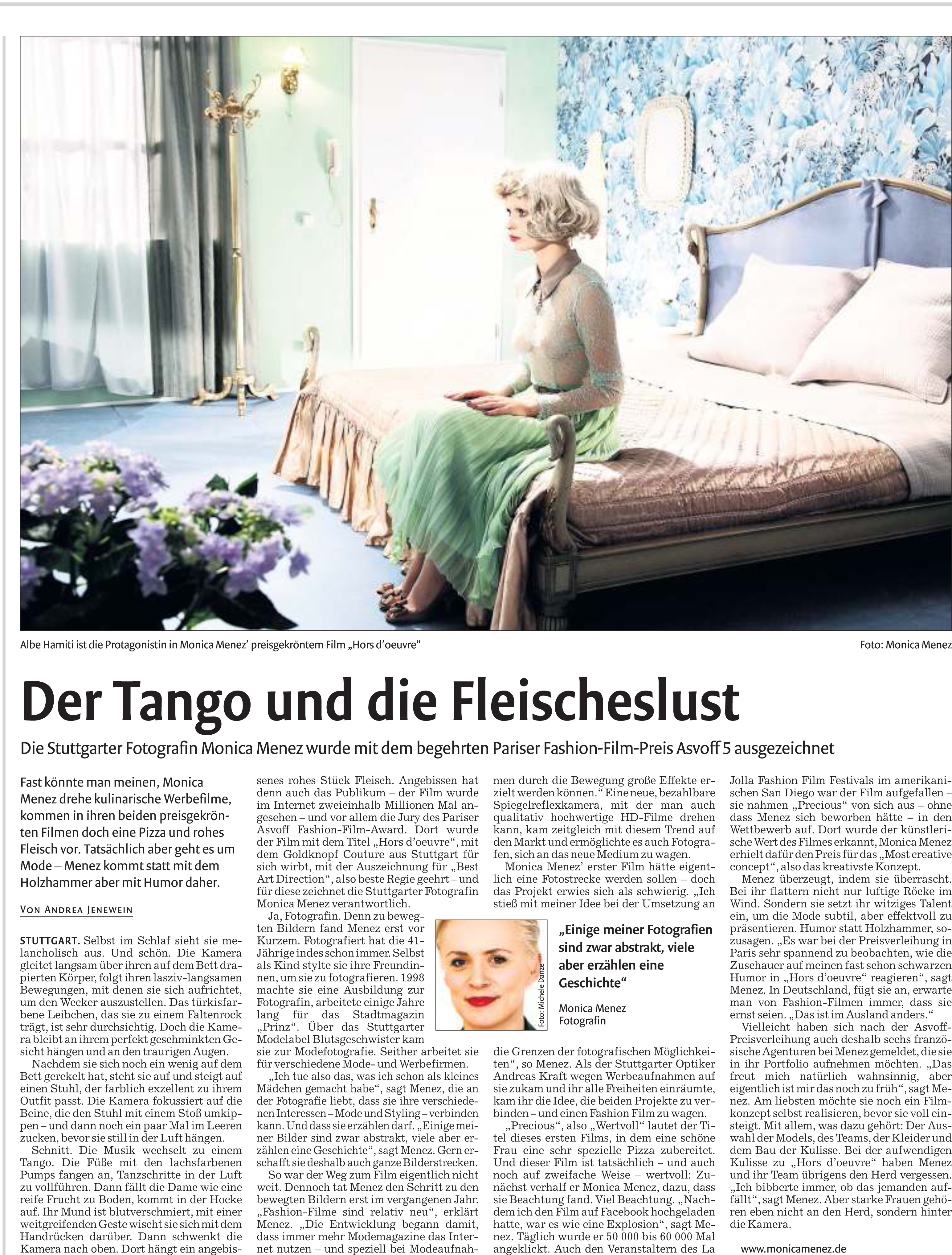 Bericht Stuttgarter Nachrichten 12.12.2012
