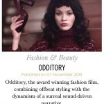 "Interview Hunger Magazine ""ODDITORY"""